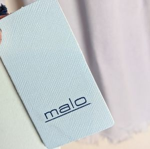 Malo Accessories - Malo Stola light blue cashmere cotton scarf shawl